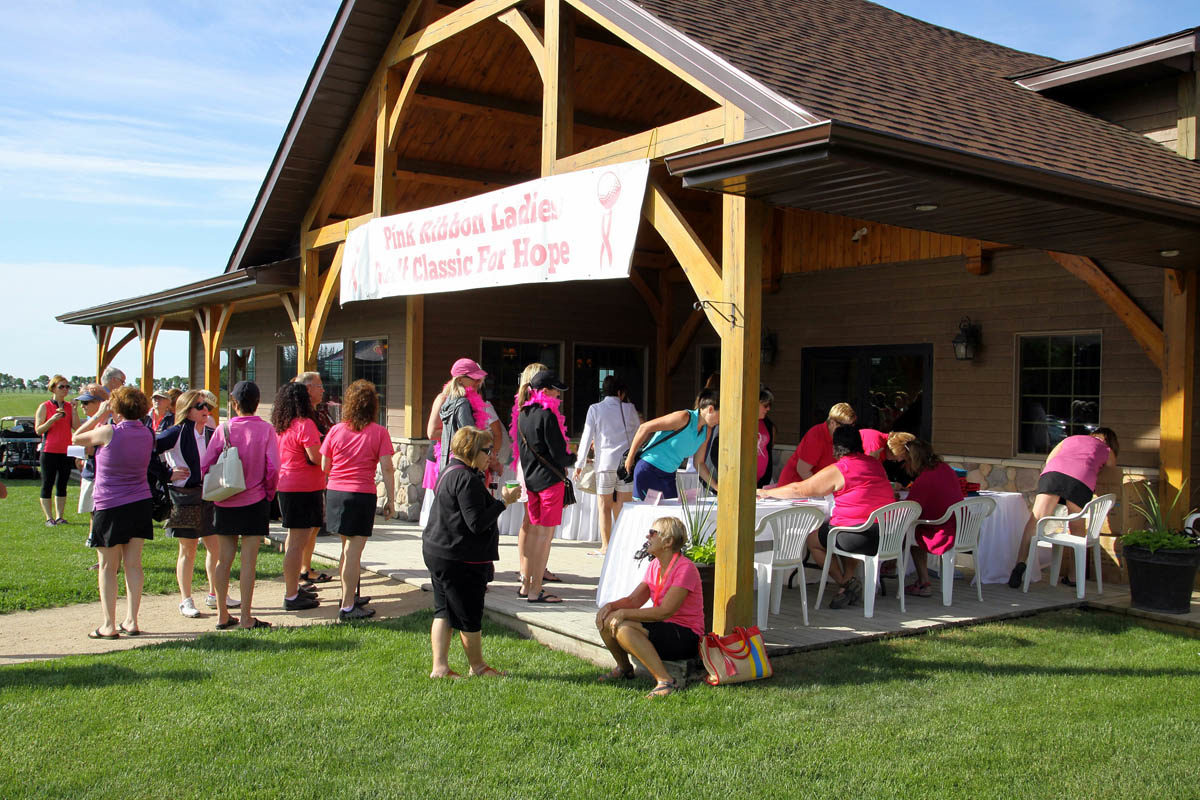 Pink Ribbon Ladies Golf Classic For Hope